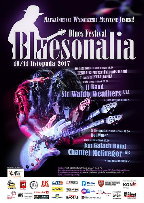 plakat bluesonalia 2017